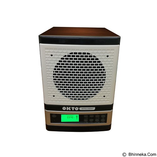 OKTO Intelligent Fit Air Purifier [OKTO-AP-1401WDW-FI] - White Wood - Air Purifier