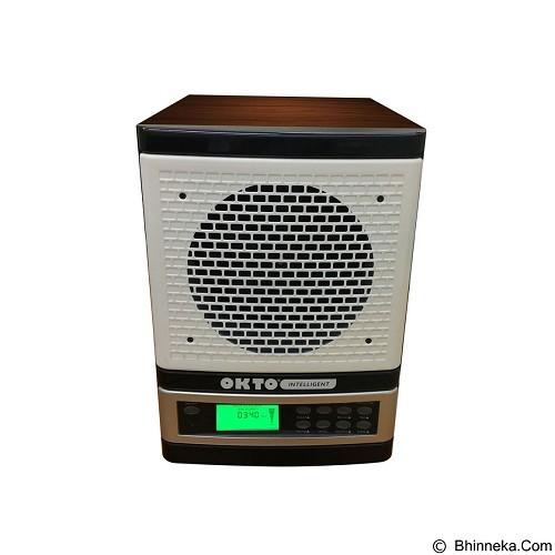 OKTO Intelligent Fit Air Purifier [OKTO-AP-1401WDW-FI] - White Wood - Air Purifier