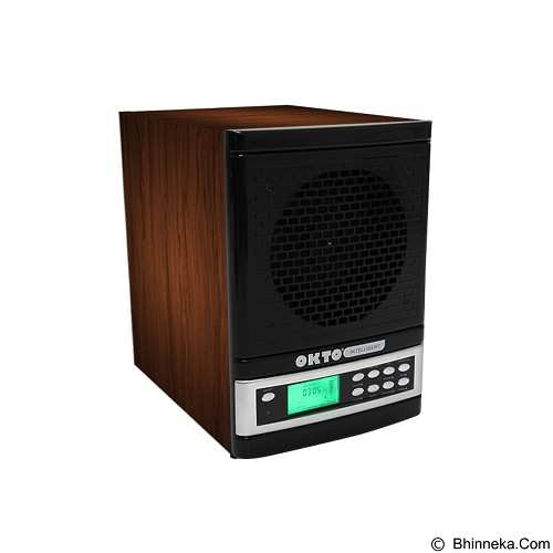 OKTO Intelligent Pure Air Purifier [OKTO-AP-1401WD-PU] - Black Wood - Air Purifier