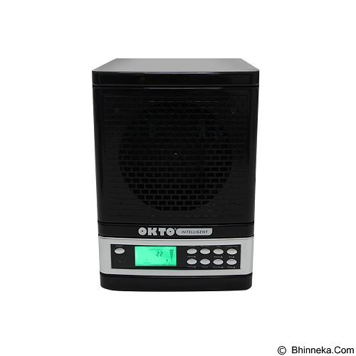 OKTO Intelligent Smart Air Purifier [OKTO-AP-1401SV-SM] - Black Silver - Air Purifier