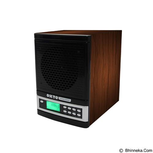 OKTO Intelligent Smart Air Purifier [OKTO-AP-1401WD-SM] - Black Wood - Air Purifier