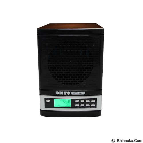 OKTO Intelligent Smart Air Purifier [OKTO-AP-1401WD-SM] - Black Wood - Air Purifier