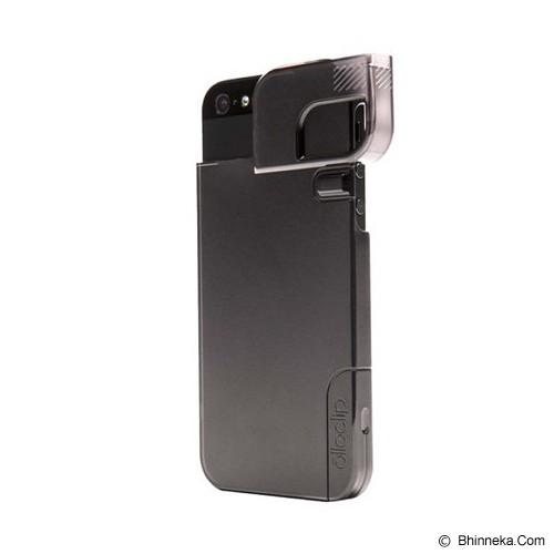 OLLOCLIP Quick Flip Case iPhone 5/5s - Black - Casing Handphone / Case