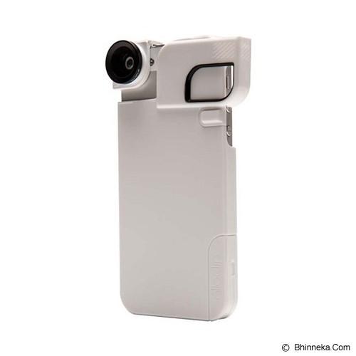 OLLOCLIP Quick Flip Case iPhone 5/5s - White - Casing Handphone / Case