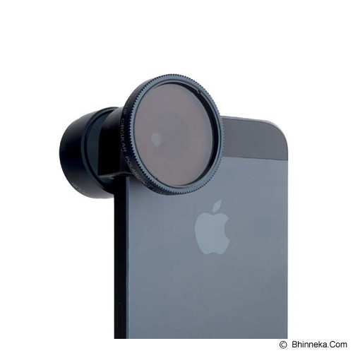 OLLOCLIP Telephoto Plus Circular Polarizing Lens for iPhone 5/5S - Gadget Activity Device