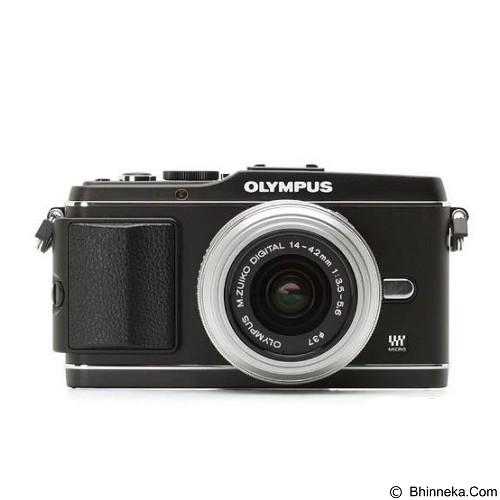 OLYMPUS Digital Camera E-P3 Single Kit - Black (Merchant) - Camera Mirrorless