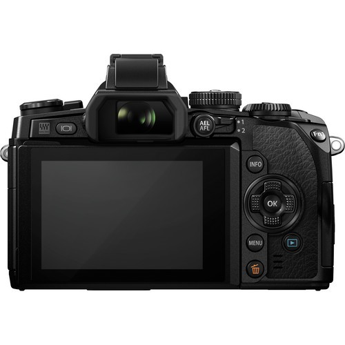 OLYMPUS OM-D E-M1 Kit1 - Black - Camera Mirrorless