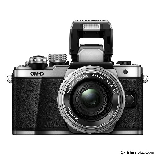 OLYMPUS OM-D E-M10 Mark II Limited Edition Kit - Silver - Camera Mirrorless
