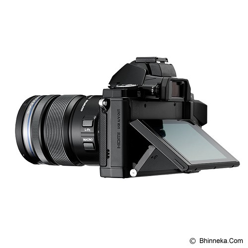 OLYMPUS OM-D E-M5 Kit1 - Black - Camera Mirrorless