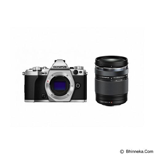 OLYMPUS OM-D E-M5 Mark II Kit2- Silver - Camera Mirrorless
