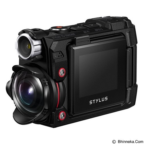 OLYMPUS Stylus TG-Tracker Action Camera - Black - Camcorder / Handycam Flash Memory