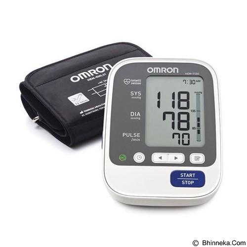 OMRON Tensimeter Digital [HEM-7130] - White - Alat Ukur Tekanan Darah