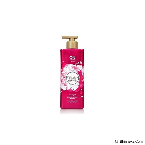 ON THE BODY Perfume Shower Body Wash - Classic Pink - Sabun Mandi