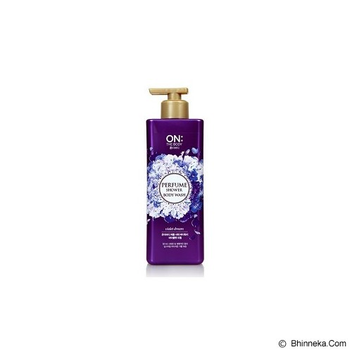 ON THE BODY Perfume Shower Body Wash - Violet Dream - Sabun Mandi