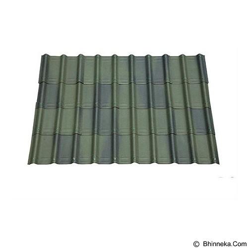 ONDUVILLA Atap Rumah 1060 x 40 mm - Shaded Green (Merchant) - Atap/Genteng