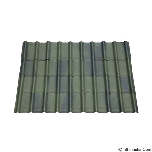 ONDUVILLA Atap Rumah 1060 x 40 mm - Shaded Green (Merchant) - Atap/Genteng