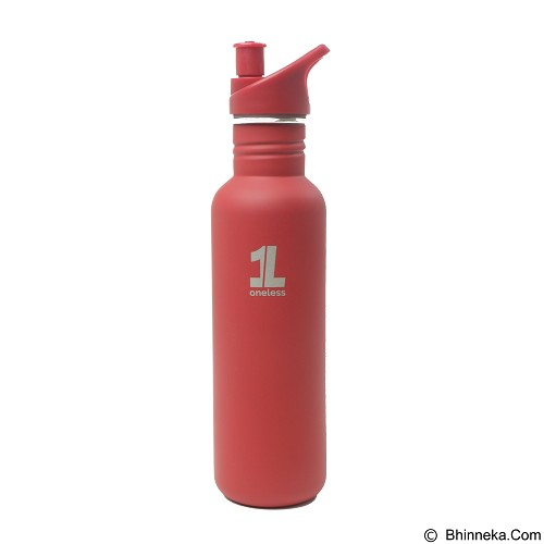 ONE LESS Botol Minum 1L - Green - Sport Water Bottle / Botol Minum