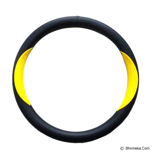 ONEWAY Cover Stir Mobil Eclipse - Kuning Hitam - Organizer Mobil