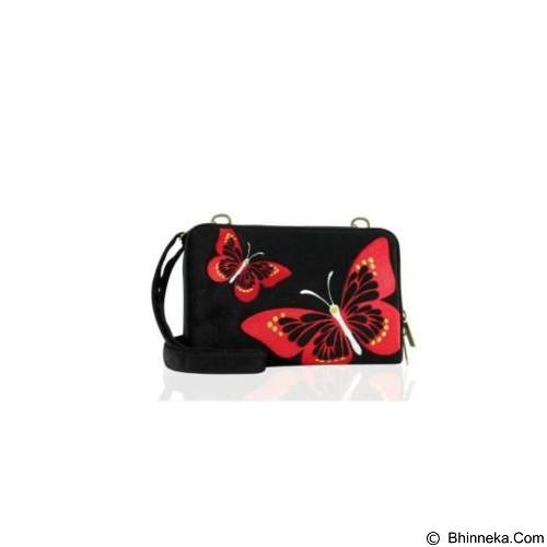 ONTASSHOP Tas Selempang Wanita Hpo Adelum Kupu-kupu - Hitam (Merchant) - Cross-Body Bag Wanita