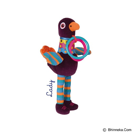 OOPS Boneka Rattle Multi Fungsi Peacock Lady [OP11007.00] - Rattle