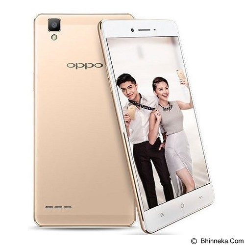 OPPO F1 - Gold (Merchant) - Smart Phone Android