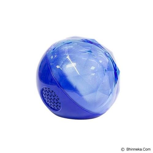 OPTIMUZ Portabel Bluetooth Color Ball - Blue - Speaker Portable
