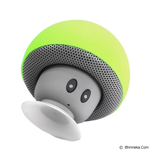 OPTIMUZ Speaker Mini Bluetooth Jamur Type - Light Green - Speaker Bluetooth & Wireless