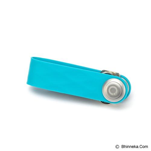 ORBITKEY Active Elastomer - Aqua - Gantungan Kunci Pria