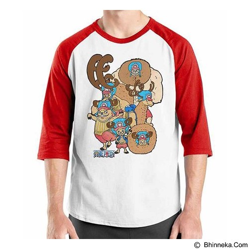 ORDINAL Raglan One Piece Chooper NW 01 Size M (Merchant) - Kaos Pria