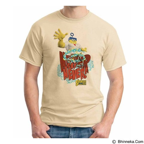 ORDINAL T-shirt Spongebob Movie 08 Size XXL (Merchant) - Kaos Pria