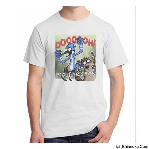 ORDINAL T-shirt Regular Show 03 Size XL (Merchant) - Kaos Pria