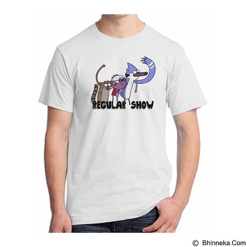 ORDINAL T-shirt Regular Show 06 Size XL (Merchant) - Kaos Pria