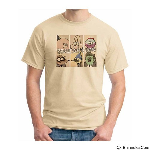 ORDINAL T-shirt Regular Show 07 Size ML (Merchant) - Kaos Pria