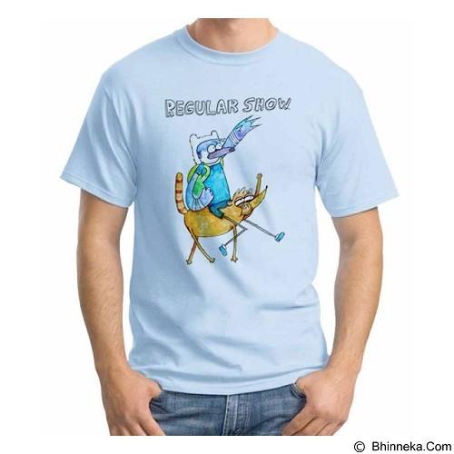 ORDINAL T-shirt Regular Show 12 Size L (Merchant) - Kaos Pria