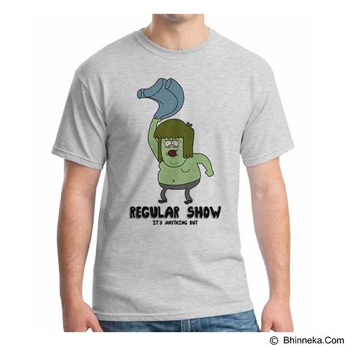 ORDINAL T-shirt Regular Show 14 Size L (Merchant) - Kaos Pria