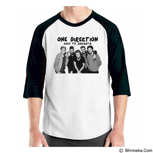 ORDINAL Raglan One Direction Tour 03 Size XXL (Merchant) - Kaos Pria