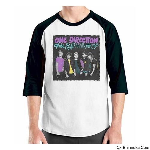 ORDINAL Raglan One Direction Tour 04 Size XXL (Merchant) - Kaos Pria