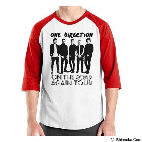ORDINAL Raglan One Direction Tour 05 Size XXL (Merchant) - Kaos Pria