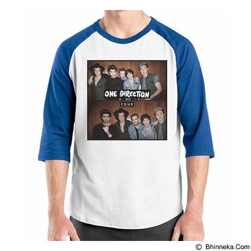 ORDINAL Raglan One Direction Tour 06 Size XL (Merchant) - Kaos Pria
