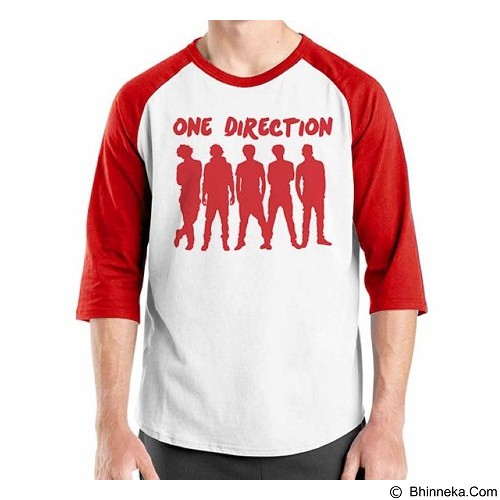 ORDINAL Raglan One Direction Tour 10 Size XL (Merchant) - Kaos Pria