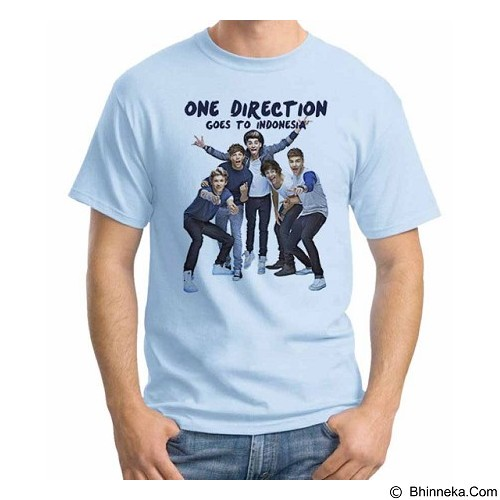 ORDINAL T-shirt One Direction Tour 02 Size XXL (Merchant) - Kaos Pria