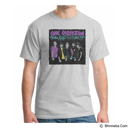 ORDINAL T-shirt One Direction Tour 04 Size XXL (Merchant) - Kaos Pria