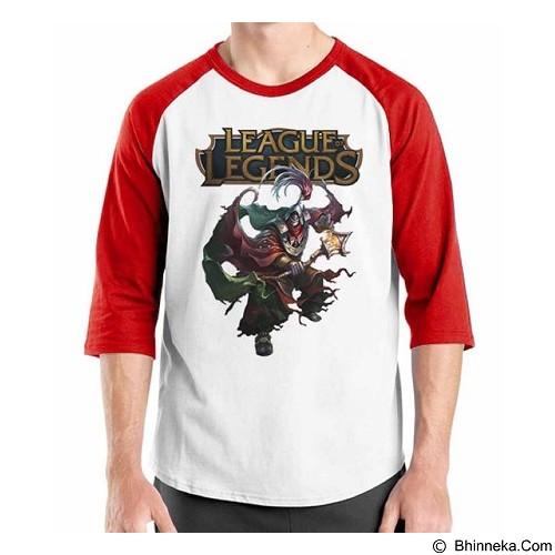 ORDINAL Raglan League Of Legends 05 Size XL (Merchant) - Kaos Pria