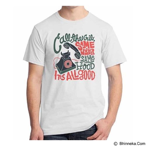 ORDINAL T-shirt Old School 15 Size ML (Merchant) - Kaos Pria