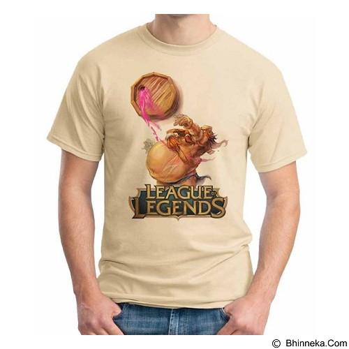 ORDINAL T-shirt League Of Legend 09 Size M (Merchant) - Kaos Pria