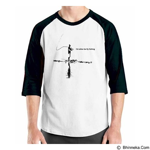 ORDINAL Raglan Fishing 01 Size ML (Merchant) - Kaos Pria