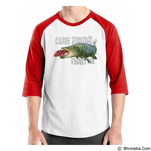 ORDINAL Raglan Fishing 08 Size ML (Merchant) - Kaos Pria