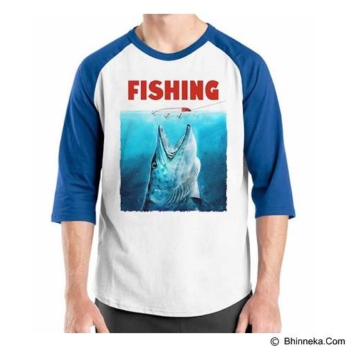 ORDINAL Raglan Fishing 09 Size XL (Merchant) - Kaos Pria
