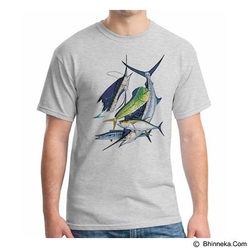 ORDINAL T-Shirt Fishing 11 Size XXL (Merchant) - Kaos Pria