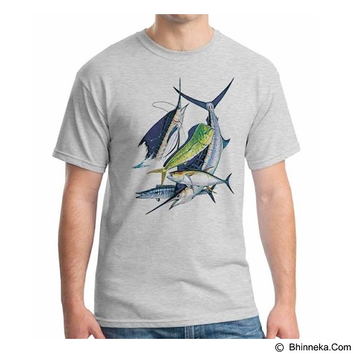ORDINAL T-Shirt Fishing 11 Size ML (Merchant) - Kaos Pria
